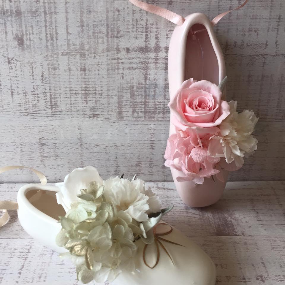 Z-Flower Design+_バレーシューズ_アレンジメント_2016
