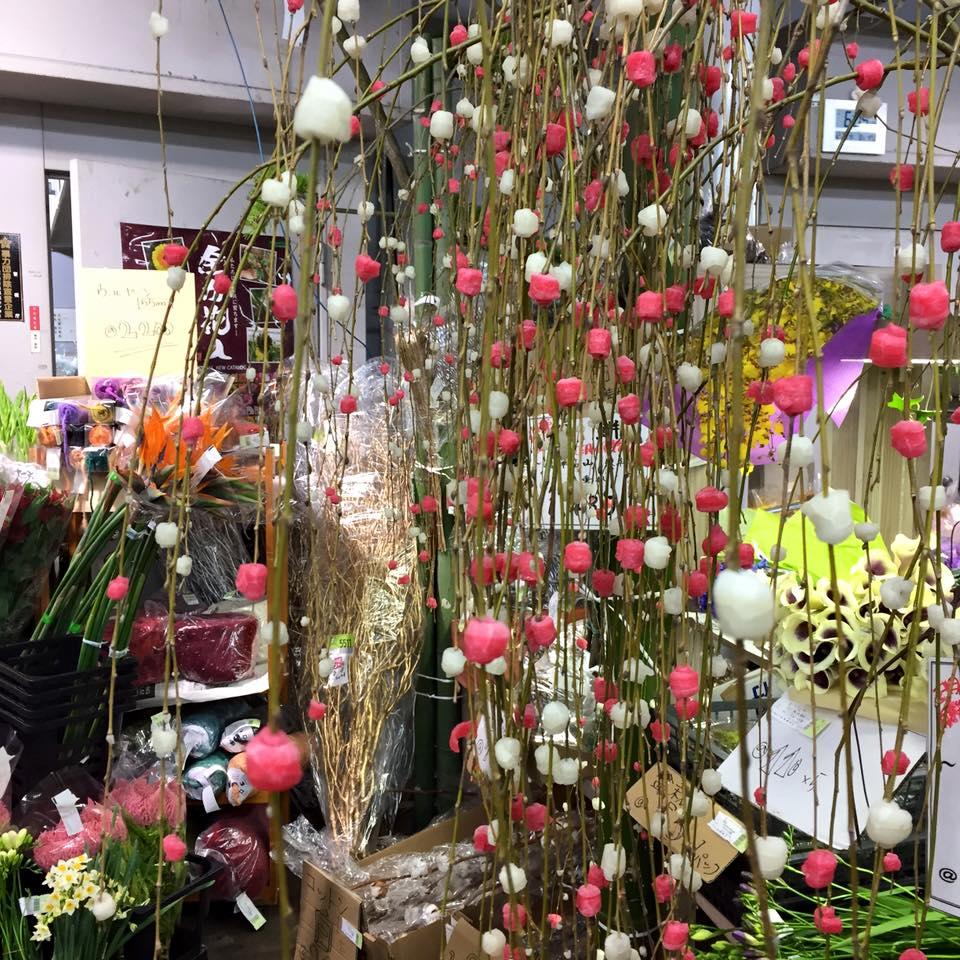 Z-Flower Design+_お正月花の仕入れ第1弾_オーダーとワークショップ_2015