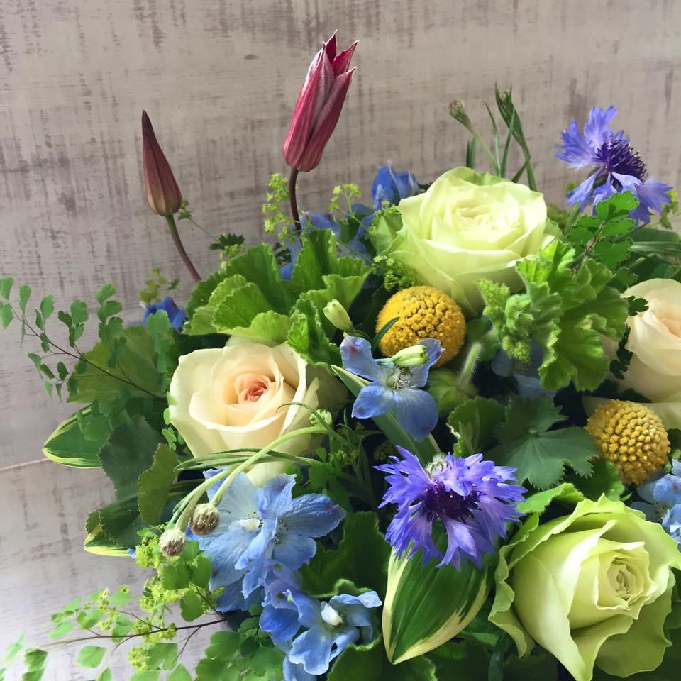Z-Flower Design+_溢れる春のアレンジメント_ワークショップ_2016