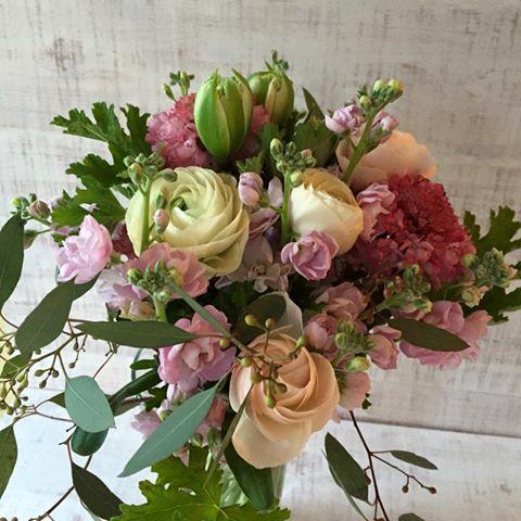 Z-Flower Design+_3月の送別シーズンの花束_2016