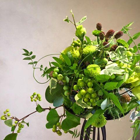 Z-Flower Design+_6月ワークショップのお知らせ_『berry ball』_2016