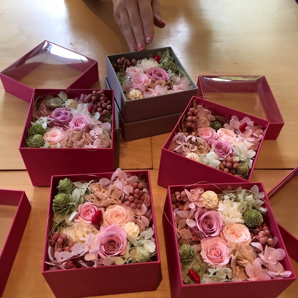 Z-Flower Design+_母の日のプレゼントを作ろう!_プリザ_2016