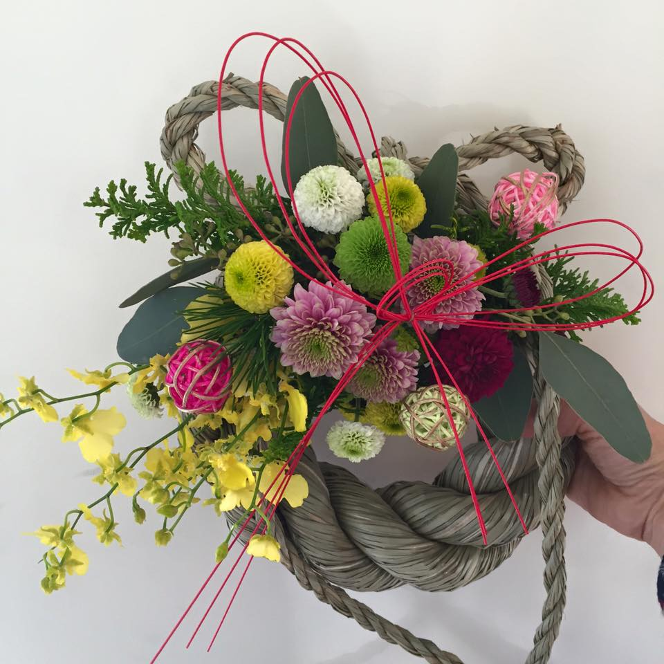 Z-Flower Design+_正月飾り_2015年のワークショップも全て終了_2015