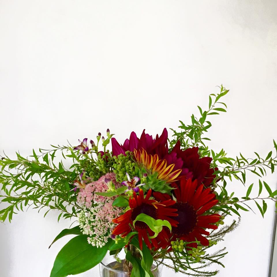 Z-Flower Design+_晩夏のオーダー花束の注文_2015
