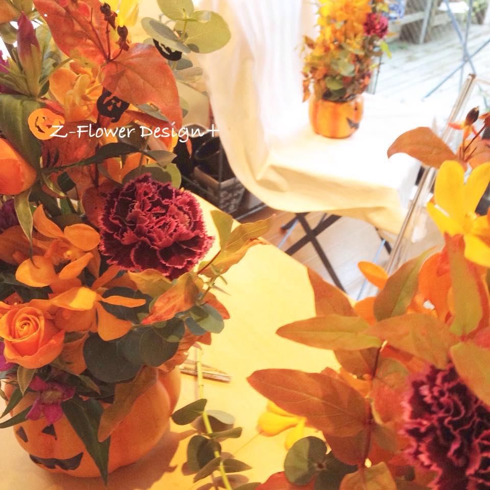 Z-Flower Design+_2014年のハロウィンのワークショップ_2014
