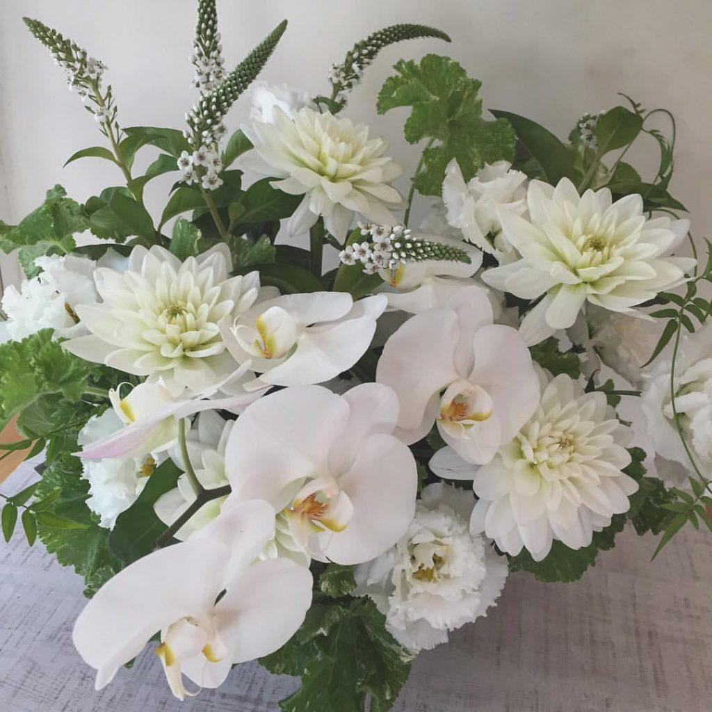 Z-Flower Design+_お供えのフラワーアレンジ_2016