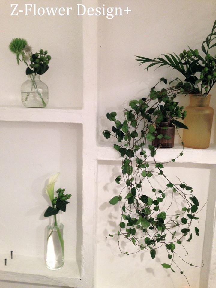 Z-Flower Design+_白×グリーンが1番花の色合わせでステキだといつも思う_2013