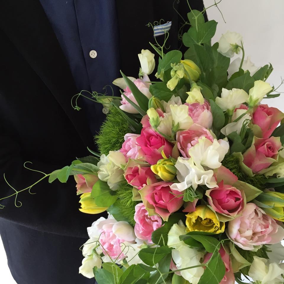 Z-Flower Design+_ホワイトデーの花束の注文の謝辞_2015