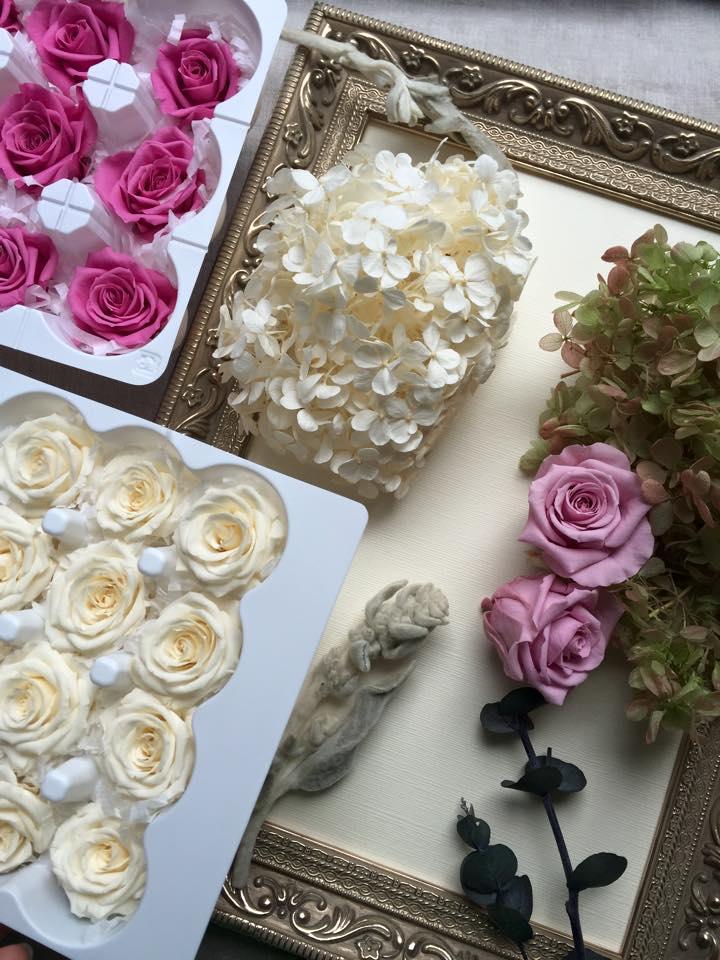 Z-Flower Design+_婚礼でご両親への贈呈用のプリザーブドフラワーの花の準備_2015