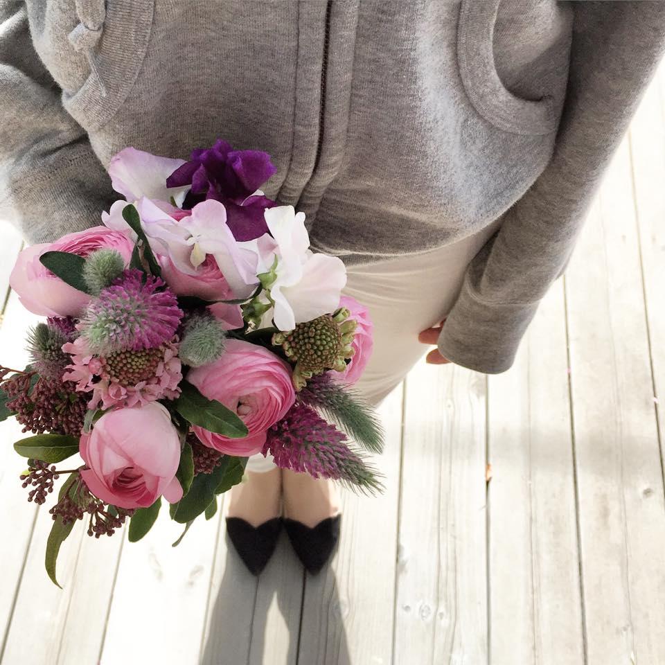 Z-Flower Design+_送別会に花束の贈り物_2015