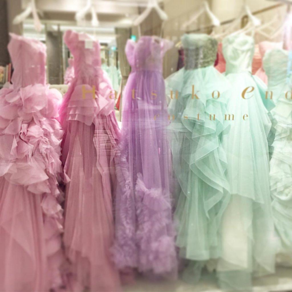 Z-Flower Design+_雰囲気のあるシックなパステルのドレス_2016
